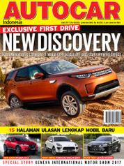 AUTOCAR Indonesia Magazine Cover April 2017