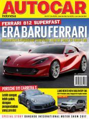 Cover Majalah AUTOCAR Indonesia Mei 2017