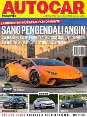 Cover Majalah AUTOCAR Indonesia Juli 2017