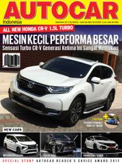 AUTOCAR Indonesia Magazine Cover September 2017