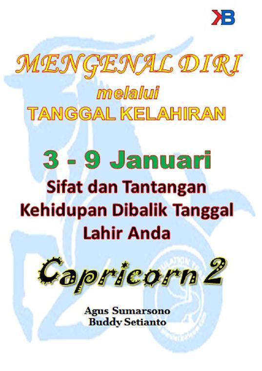 Capricorn II 3 - 9 Januari by Agus Sumarsono Digital Book