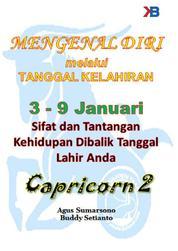 Cover Capricorn II 3 - 9 Januari oleh Agus Sumarsono