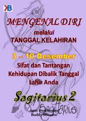 Sagitarius II 3 - 10 Desember by Buddy Setianto Cover
