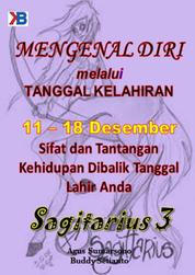Sagitarius III 11 - 18 Desember by Buddy Setianto Cover