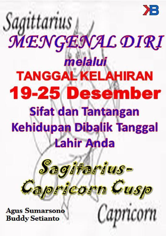 Buku Digital Sagitarius-Capricorn Cusp 19 - 25 Desember oleh Buddy Setianto