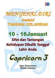 Cover Capricorn III 10 - 16 Januari oleh Buddy Setianto