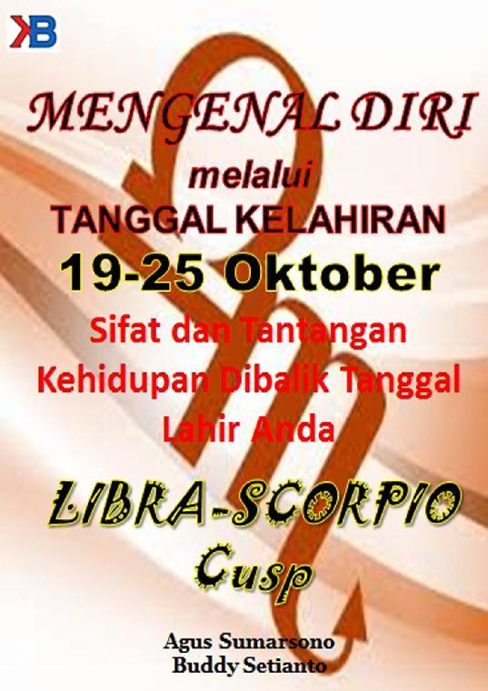 Libra-Scorpio Cusp 19 - 25 Oktober by Buddy Setianto Digital Book