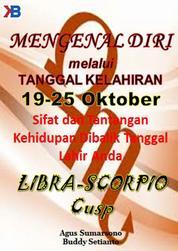 Libra-Scorpio Cusp 19 - 25 Oktober by Buddy Setianto Cover