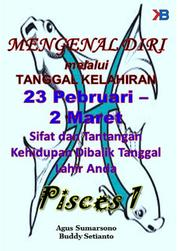 Pisces I 23 Februari - 2 Maret by Buddy Setianto Cover