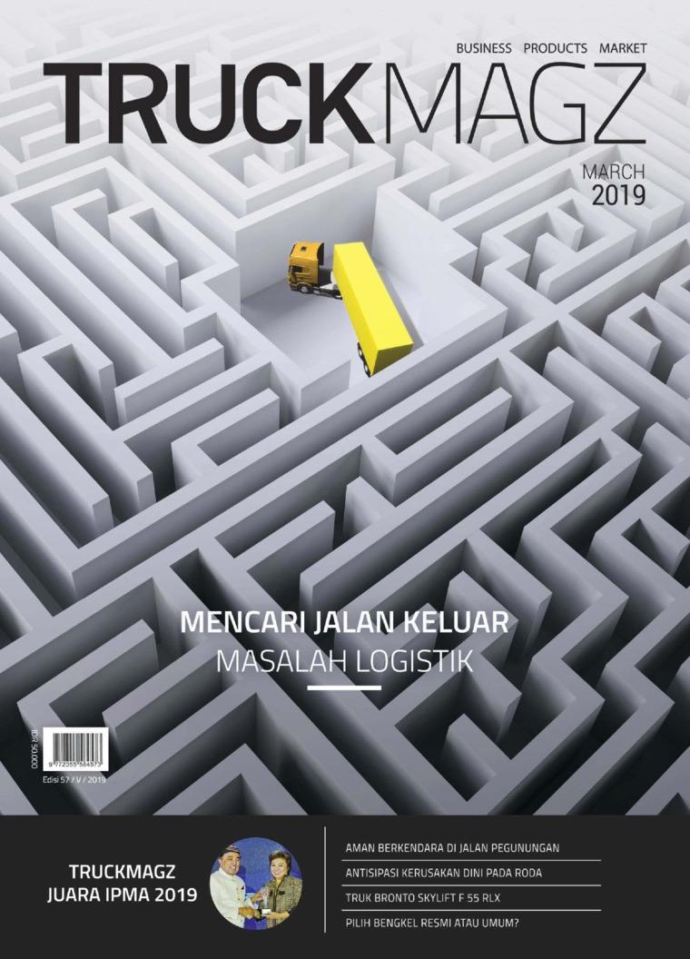 Majalah Digital TRUCK MAGZ ED 57 Maret 2019