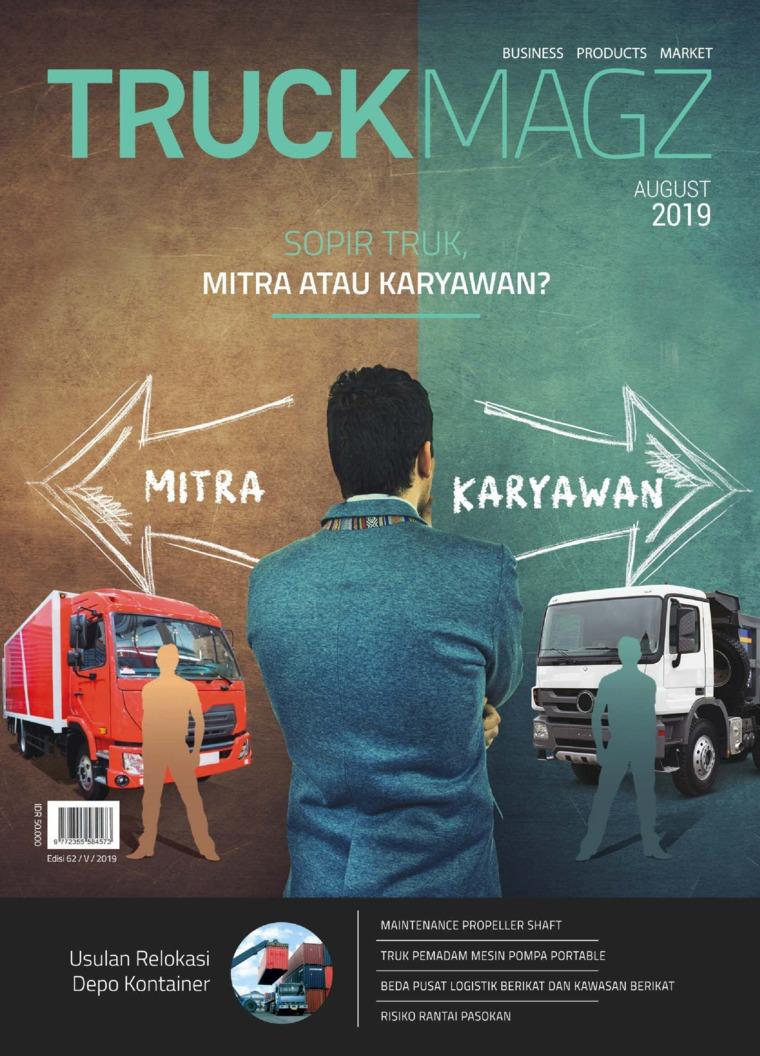 TRUCK MAGZ Digital Magazine ED 62 August 2019