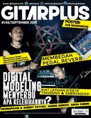 GITAR PLUS Magazine Cover ED 149 August 2016