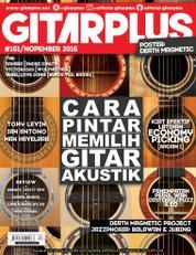 GITAR PLUS Magazine Cover ED 151 October 2016