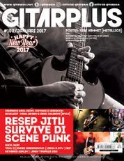GITAR PLUS Magazine Cover ED 153 January 2017