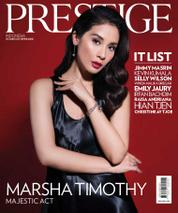 Prestige Indonesia Magazine Cover December 2017