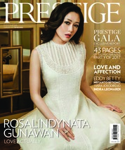 Prestige Indonesia Magazine Cover February 2018