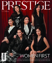 Prestige Indonesia Magazine Cover March 2018