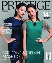 Prestige Indonesia Magazine Cover July 2018