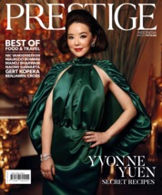 Cover Majalah Prestige Indonesia April 2019