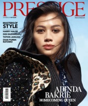 Cover Majalah Prestige Indonesia September 2019