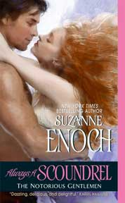 Cover Always a Scoundrel oleh Suzanne Enoch