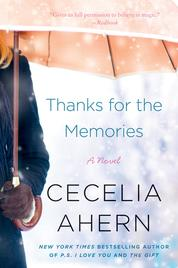 Cover Thanks for the Memories oleh Cecelia Ahern