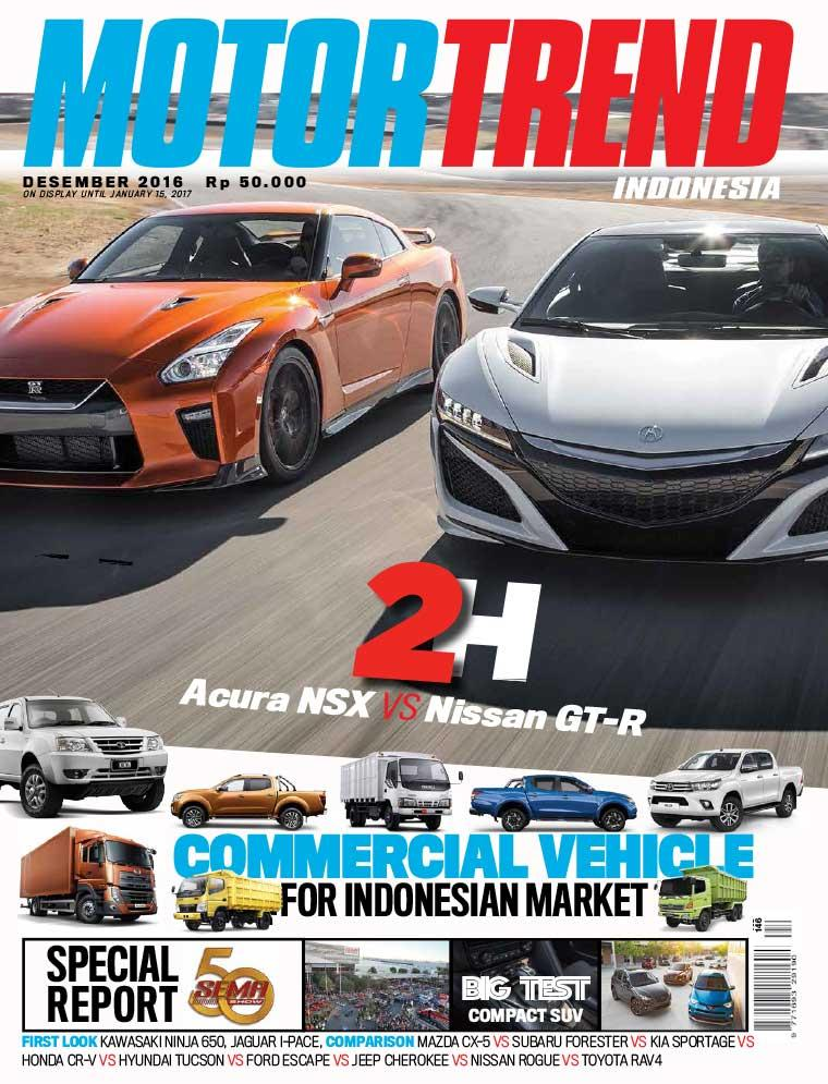 MOTOR TREND Indonesia Magazine December 2016 - Gramedia Digital on