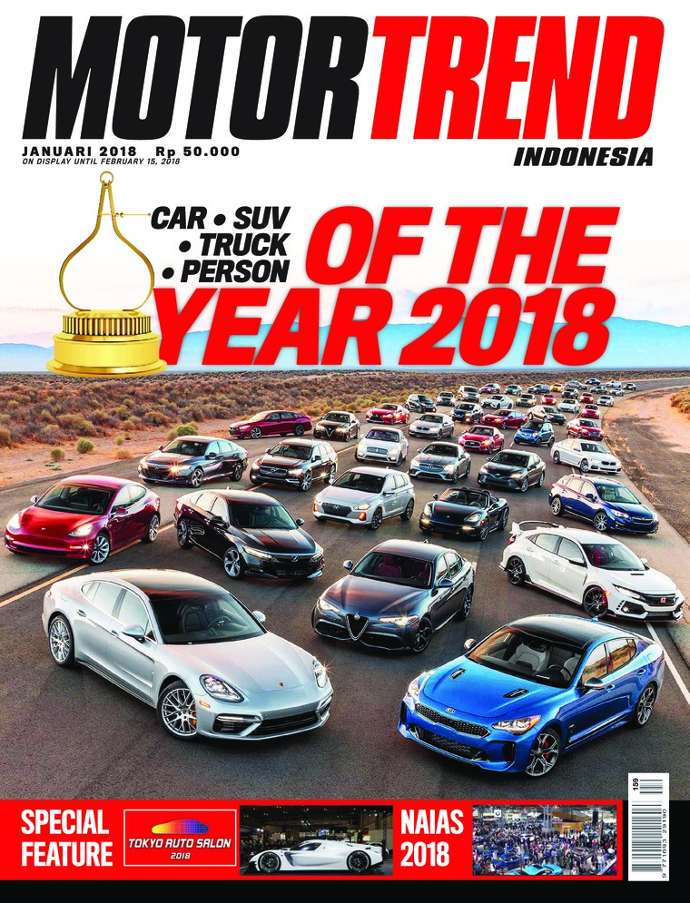 MOTOR TREND Indonesia Digital Magazine January 2018