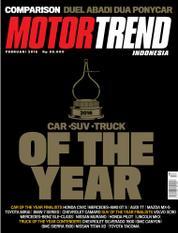 Cover Majalah MOTOR TREND Indonesia Februari 2016