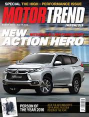 Cover Majalah MOTOR TREND Indonesia Maret 2016