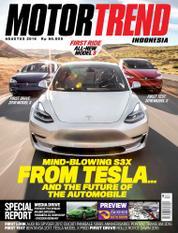 Cover Majalah MOTOR TREND Indonesia Agustus 2016
