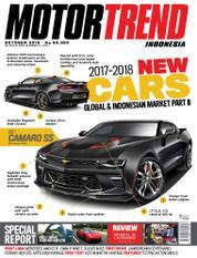 Cover Majalah MOTOR TREND Indonesia Oktober 2016