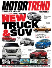 Cover Majalah MOTOR TREND Indonesia November 2016