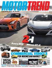 Cover Majalah MOTOR TREND Indonesia Desember 2016