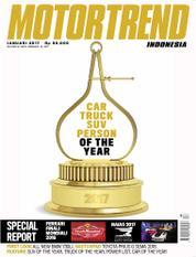 Cover Majalah MOTOR TREND Indonesia Januari 2017