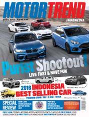 Cover Majalah MOTOR TREND Indonesia April 2017
