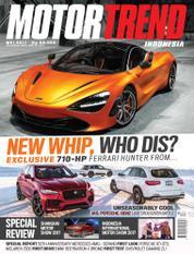 Cover Majalah MOTOR TREND Indonesia Mei 2017