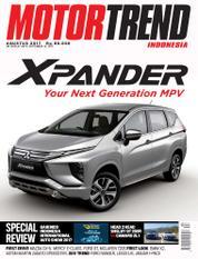 Cover Majalah MOTOR TREND Indonesia Agustus 2017