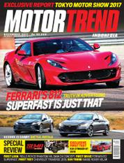 MOTOR TREND Indonesia Magazine Cover November 2017