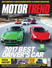 MOTOR TREND Indonesia Magazine Cover December 2017