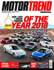 MOTOR TREND Indonesia Magazine Cover January 2018