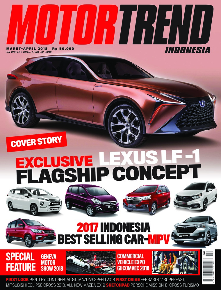 MOTOR TREND Indonesia Digital Magazine March 2018