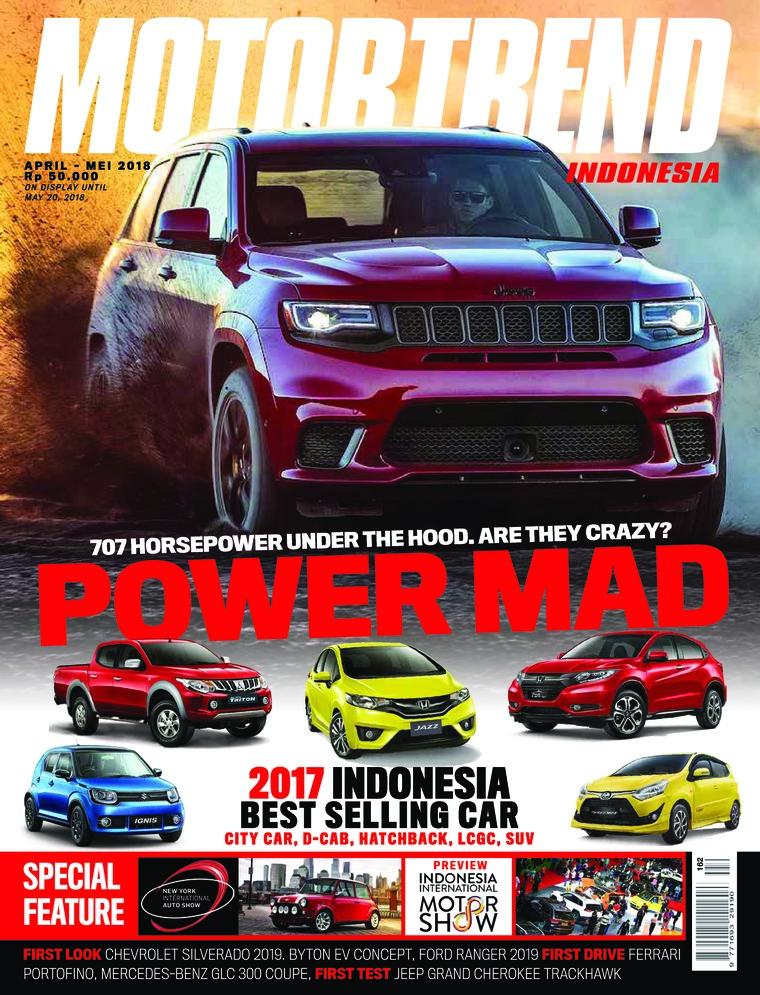 MOTOR TREND Indonesia Digital Magazine April 2018