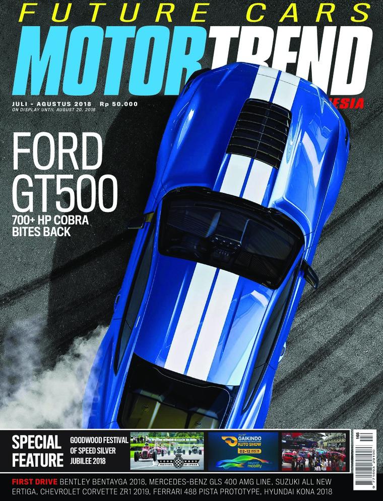 MOTOR TREND Indonesia Digital Magazine July-August 2018