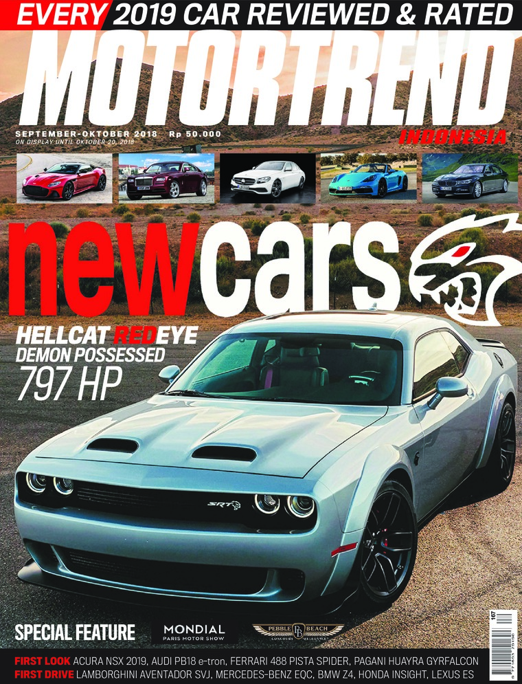 Majalah Digital MOTOR TREND Indonesia September-Oktober 2018