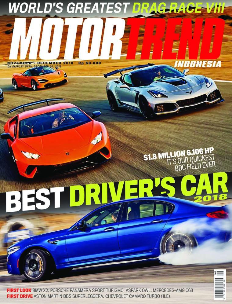 Majalah Digital MOTOR TREND Indonesia November 2018