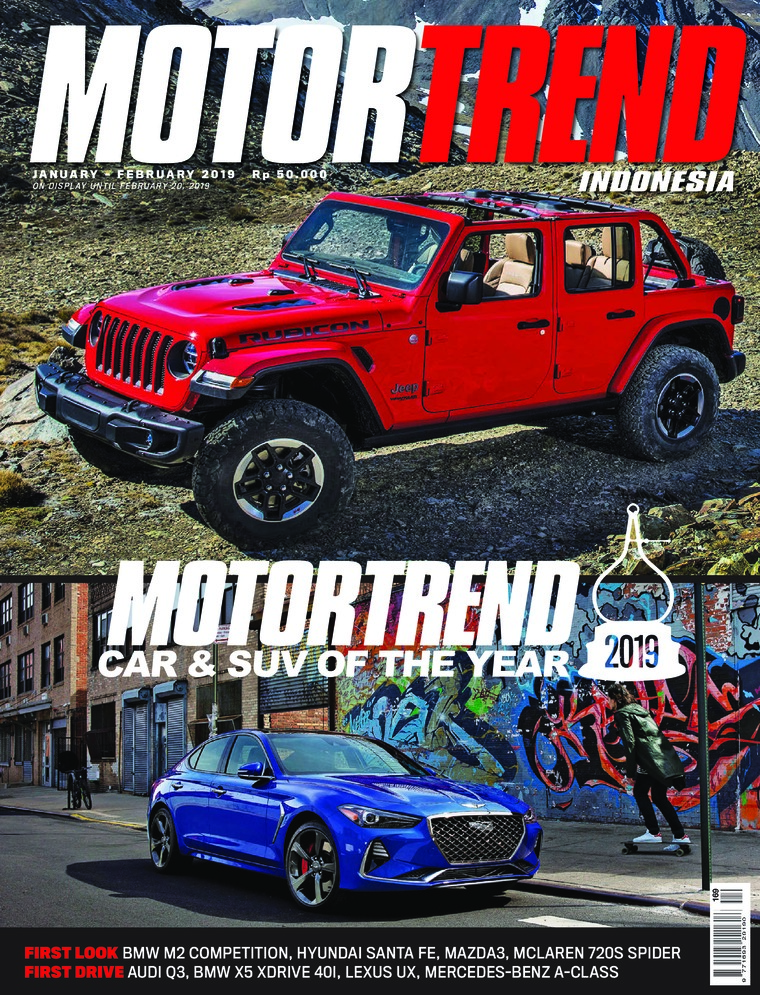 MOTOR TREND Indonesia Digital Magazine January 2019