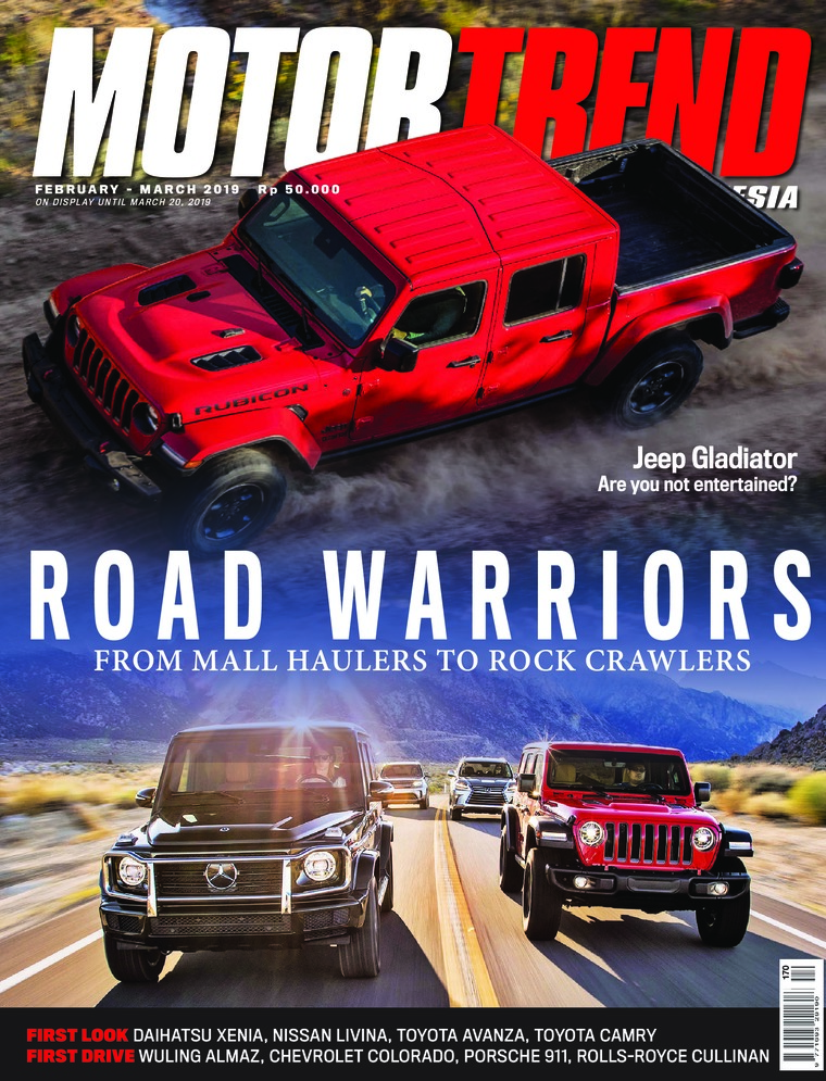 MOTOR TREND Indonesia Digital Magazine February-March 2019