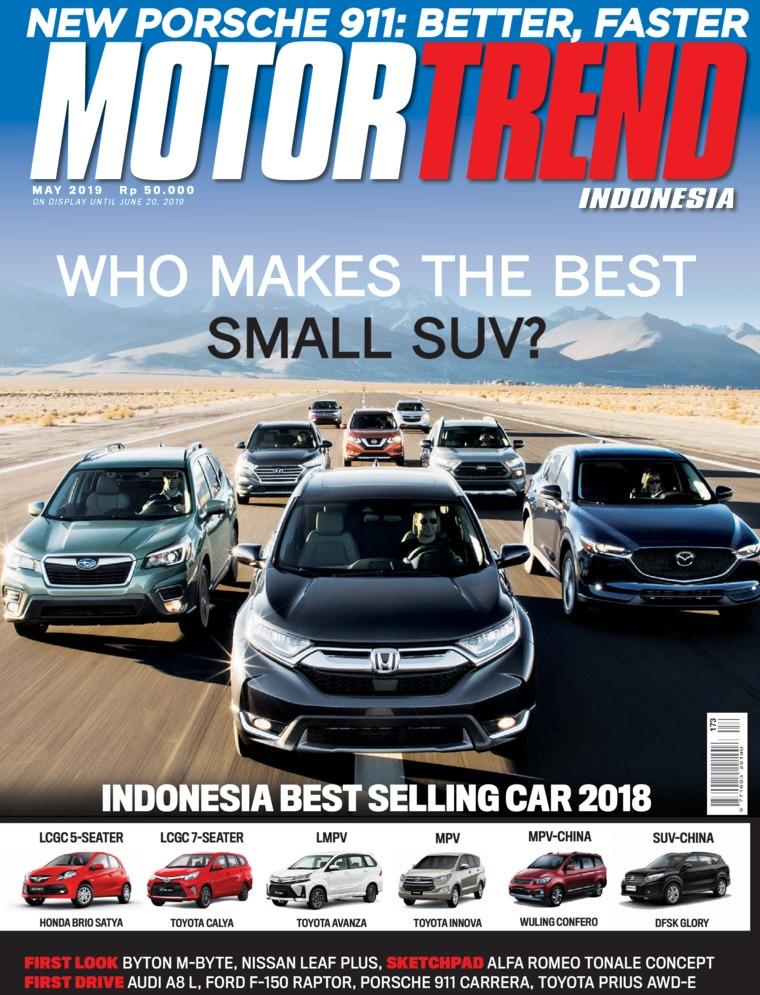 Majalah Digital MOTOR TREND Indonesia Mei 2019