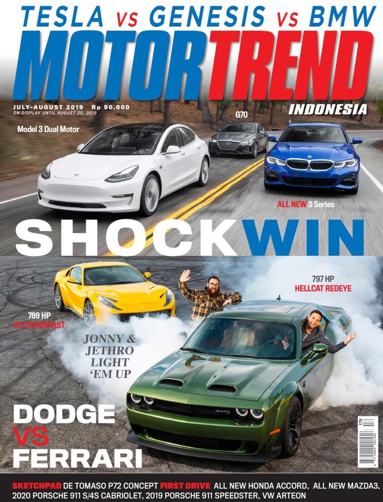 Majalah Digital MOTOR TREND Indonesia Juli-Agustus 2019